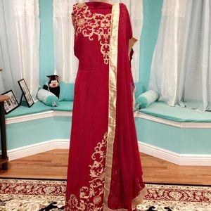 Dresses & Skirts - Pakistani Semi stitched dress